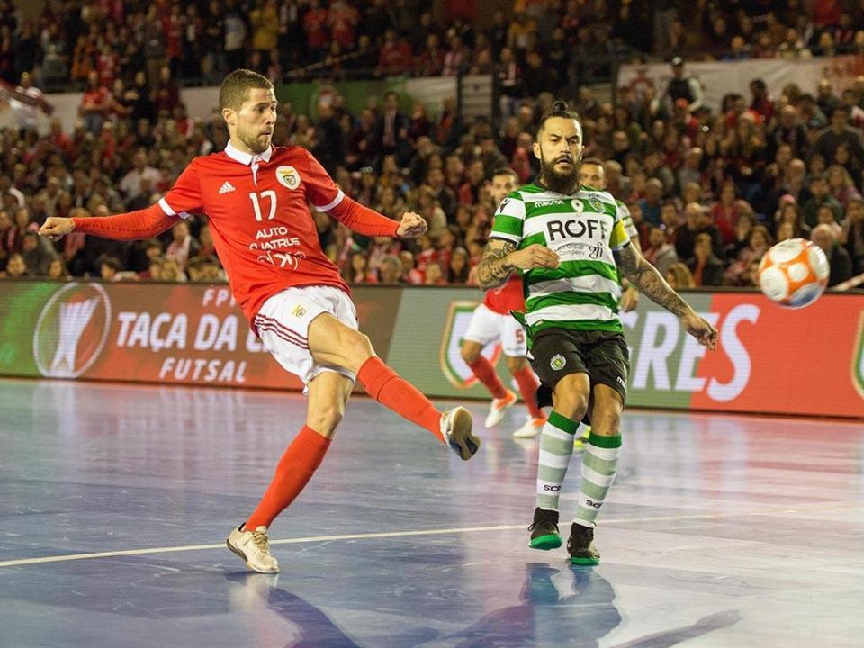 c93413a1e5 Futsal  Sporting vence Benfica (4-2) e apura-se para a final ...