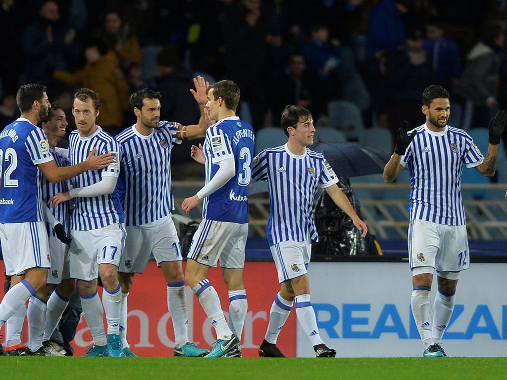 Espanha: Real Sociedad vence e agrave crise do Levante