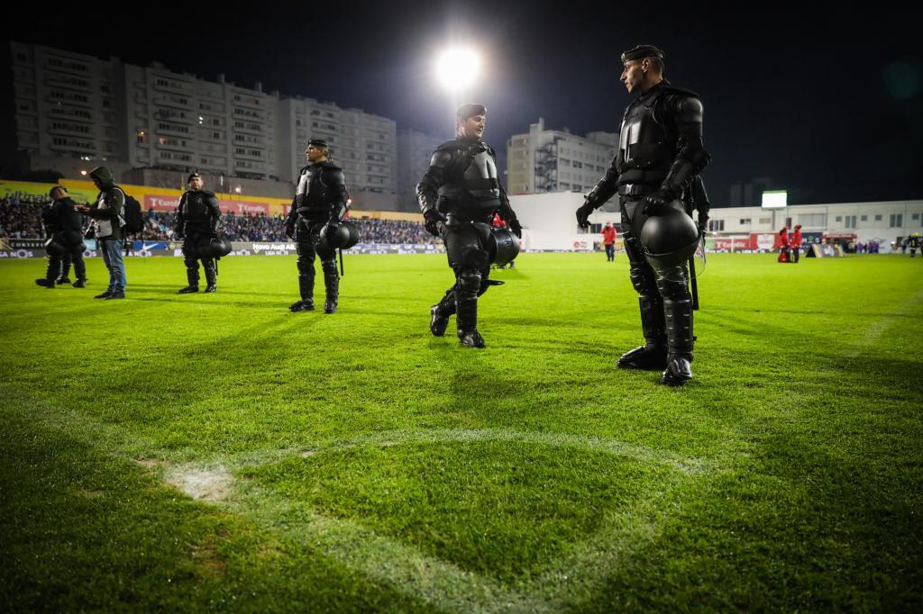 Falha de segurança no Estoril-Porto