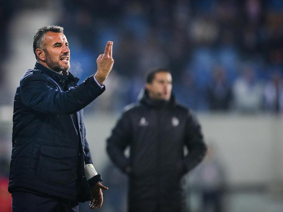 Ivo Vieira: «Fizemos um jogo de posse mas faltou-nos o golo»