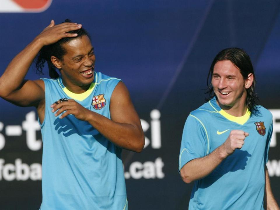 Messi: «Aprendi muito ao teu lado, Ronnie»