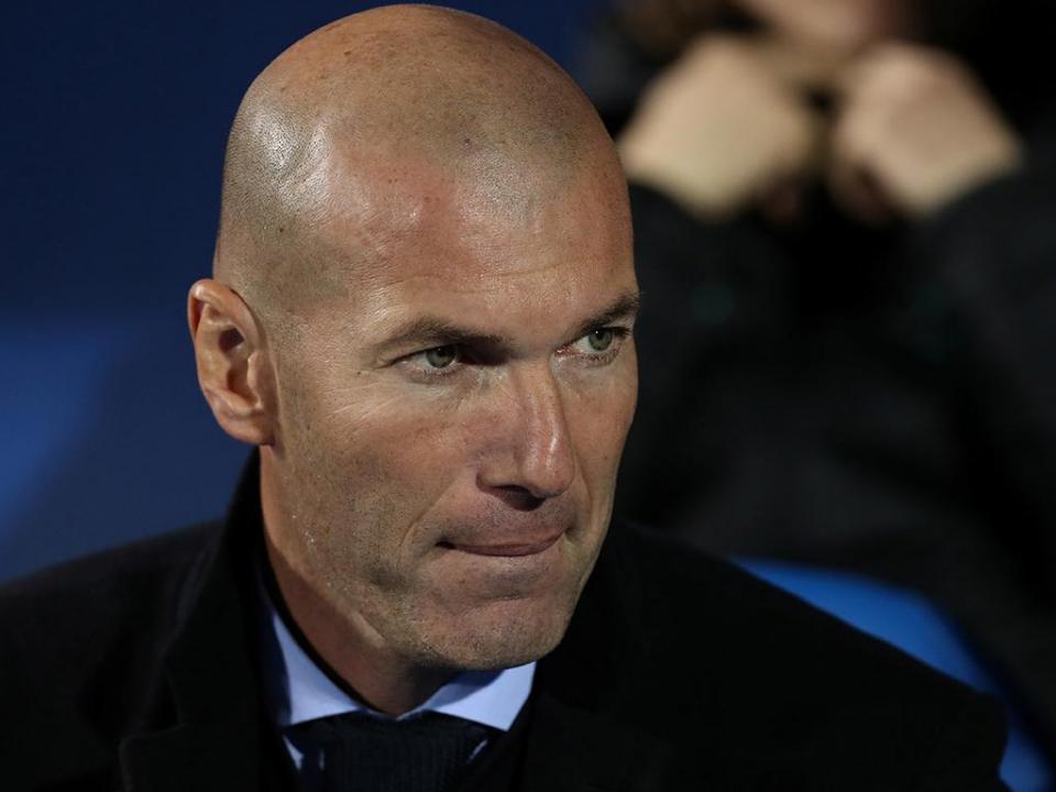 Zidane e o embate com o PSG: «Não tenho de demonstrar nada»
