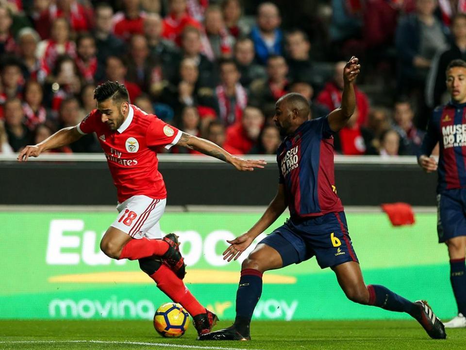 Benfica: Salvio fez meniscectomia