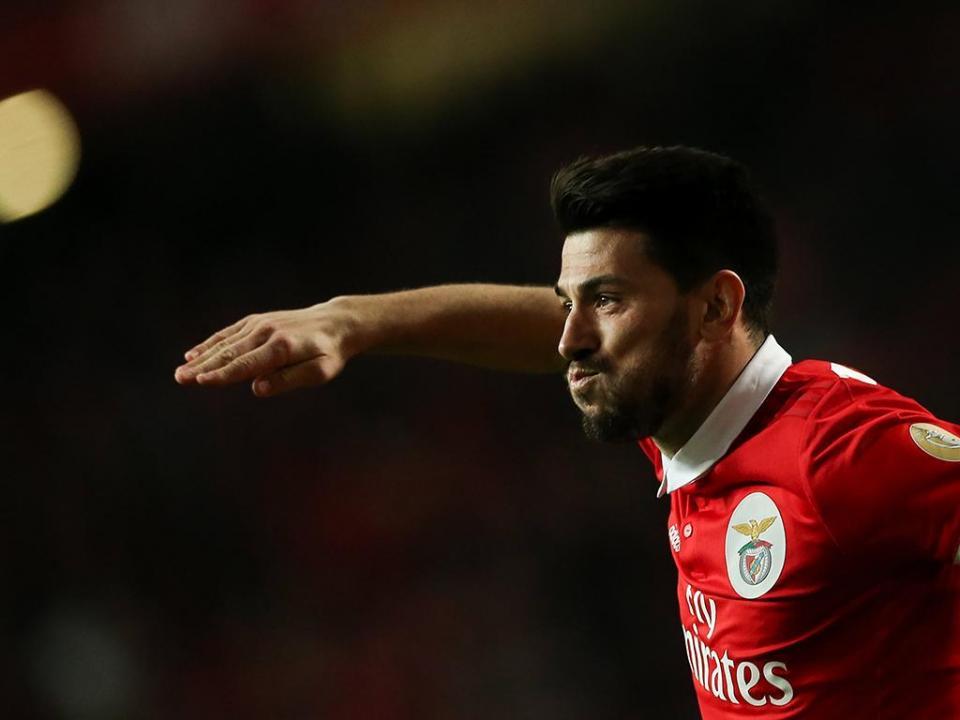 Pizzi: «Se terminasse a carreira no Benfica, seria muito feliz»