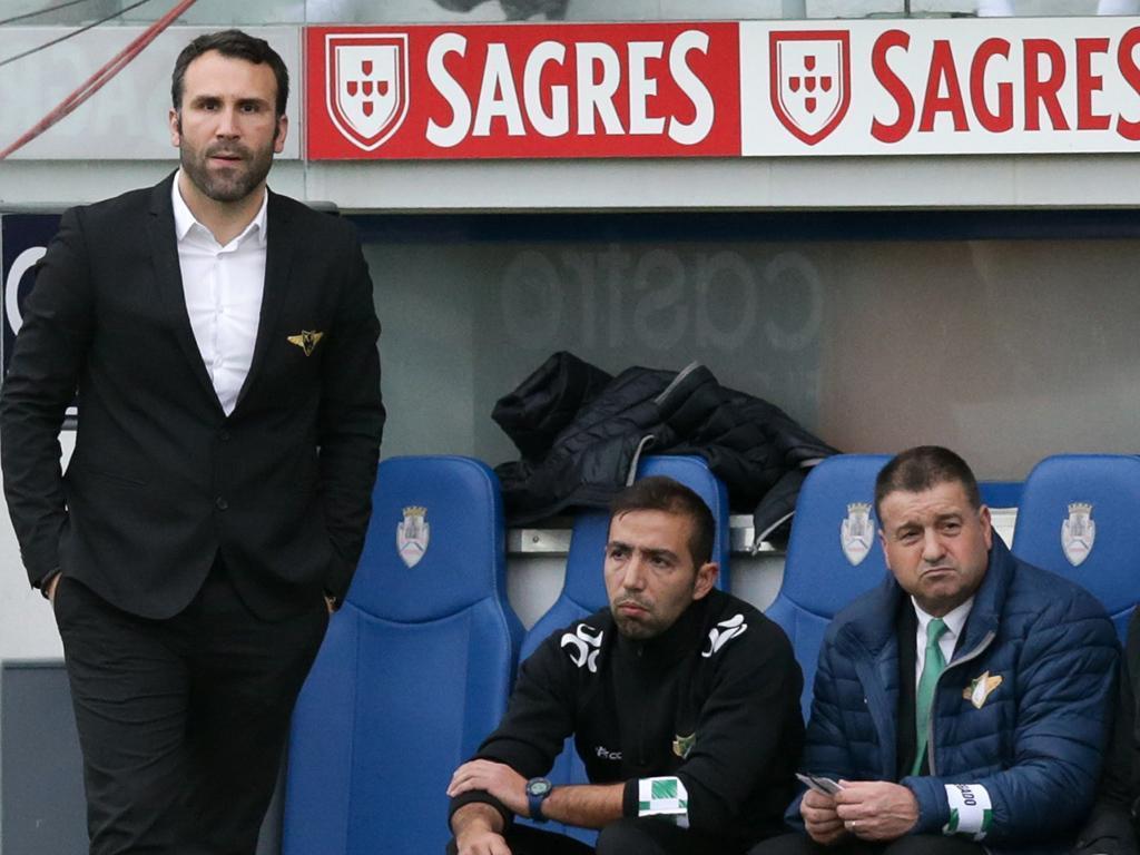 OFICIAL: Sérgio Vieira deixa o Moreirense