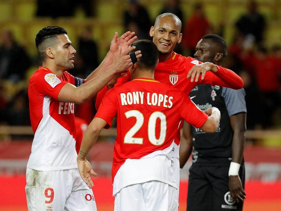 França: Rony Lopes marca na reviravolta do Mónaco