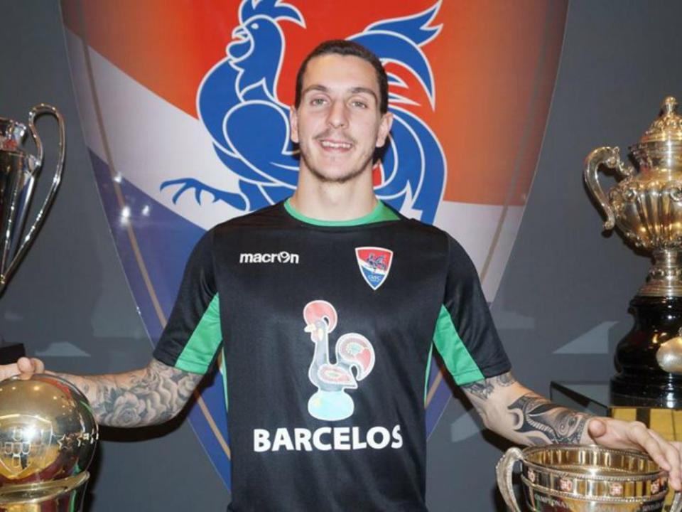 OFICIAL: FC Porto empresta João Costa ao Gil Vicente