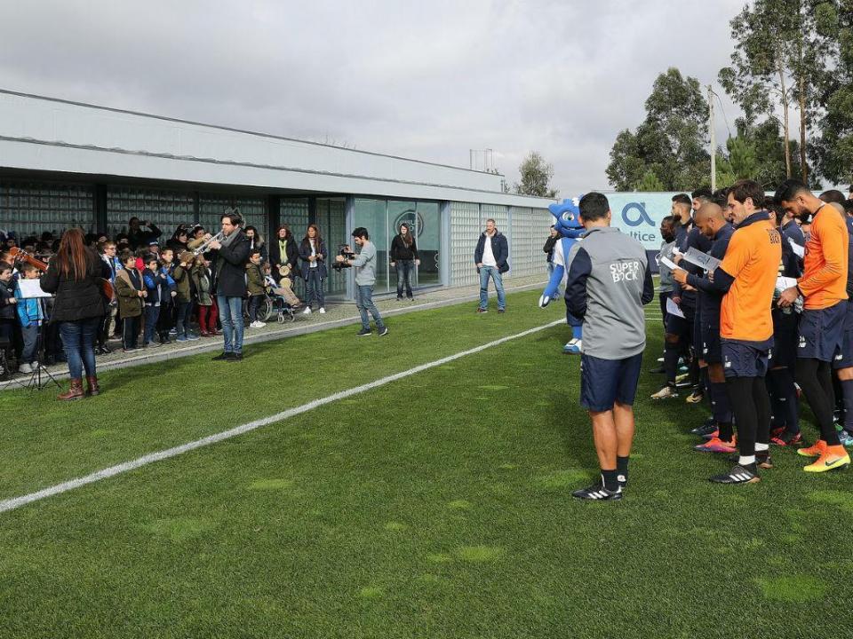 FC Porto volta aos treinos nesta segunda-feira no Olival