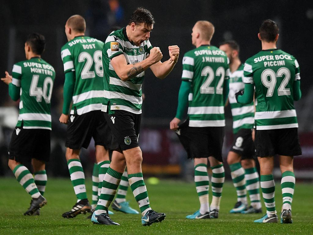 VÍDEO: Coates dá vitória ao Sporting aos 90+8'