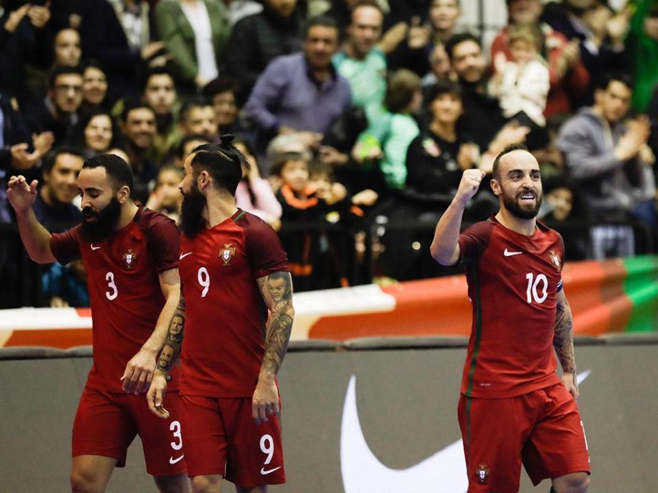 Europeu de futsal  Portugal sem medo de fazer história ... e80532cff91cd