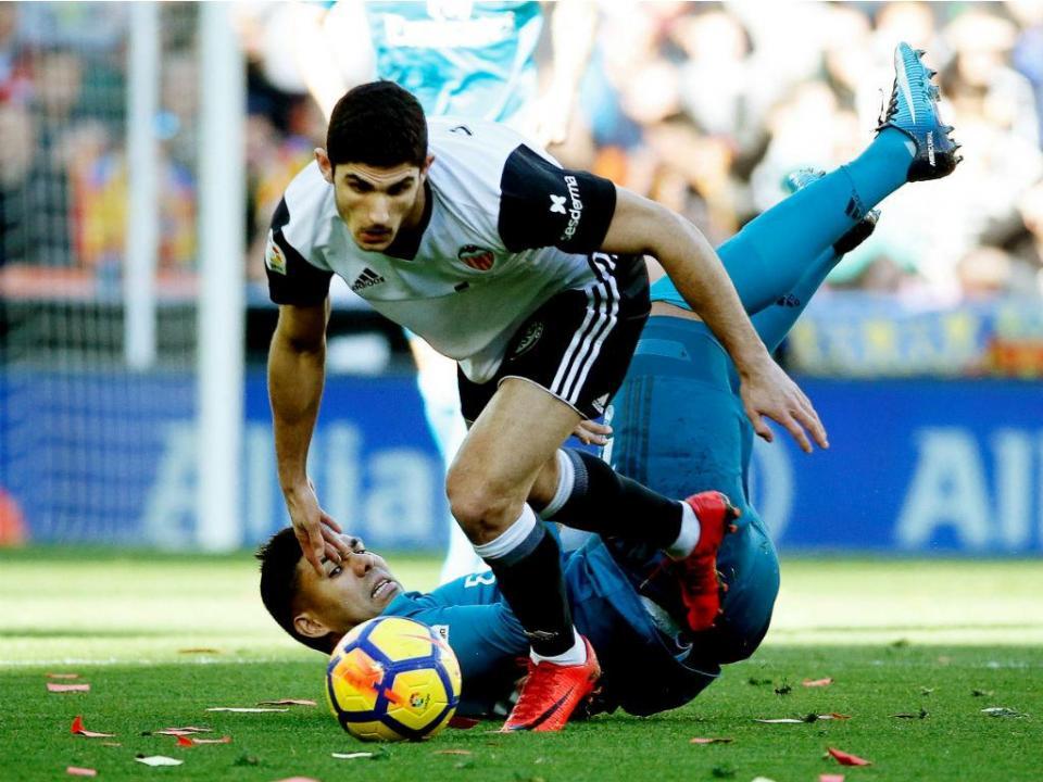 Valencia «lutará» para ter Guedes em definitivo
