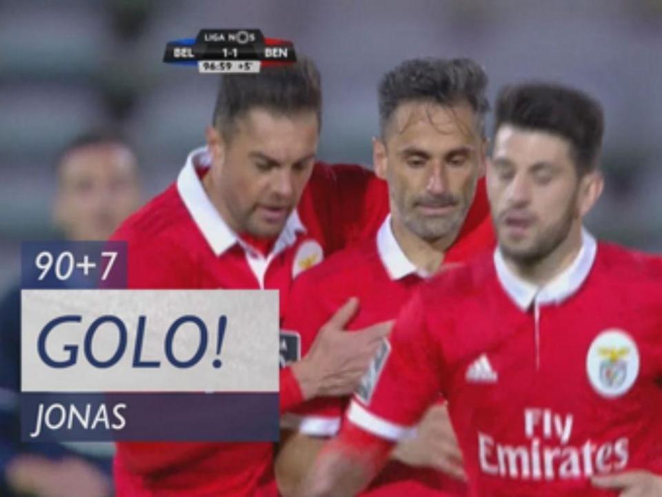 VÍDEO: Jonas fez desta forma o segundo golo em P. Ferreira