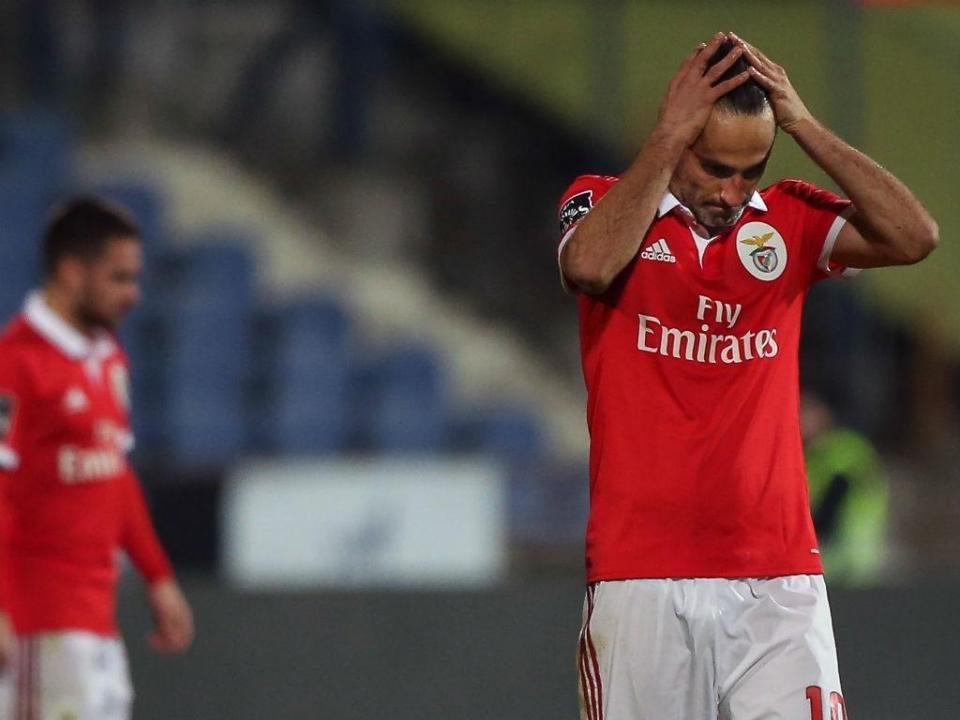 Benfica-Boavista: Jonas é titular
