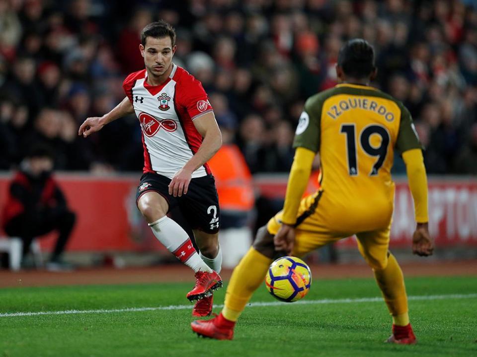 Southampton de Cédric e Brighton seguem para os «quartos» de Taça de Inglaterra