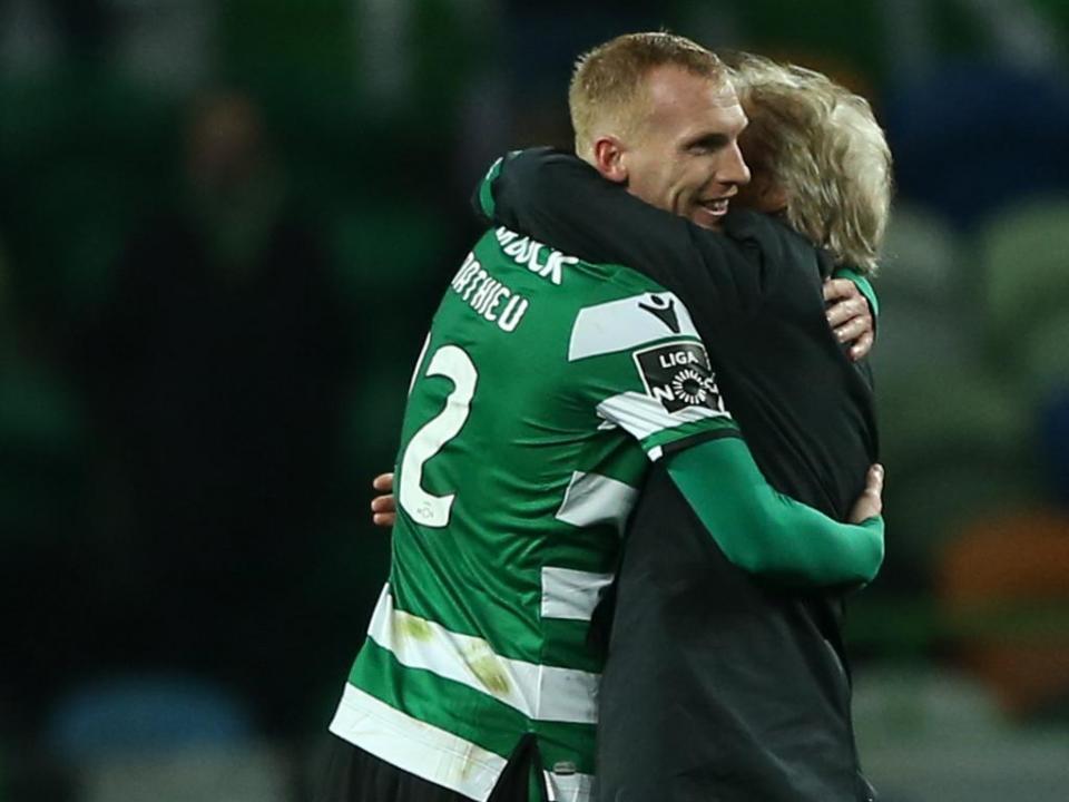 Sporting: Mathieu não viaja para Astana