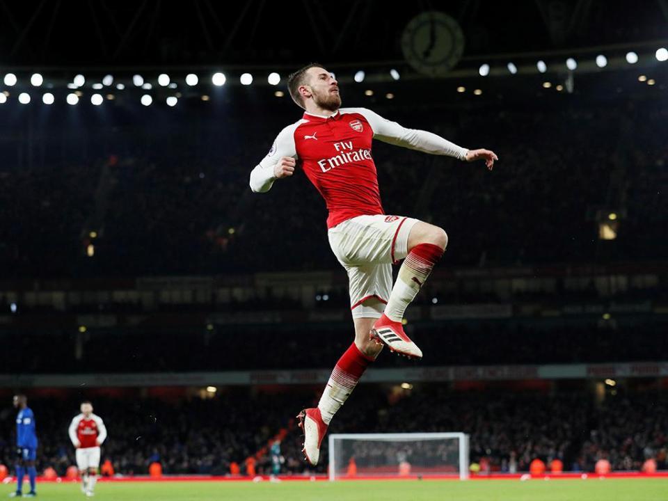 Arsenal: Ramsey está em final de contrato, não renovou e não quer sair