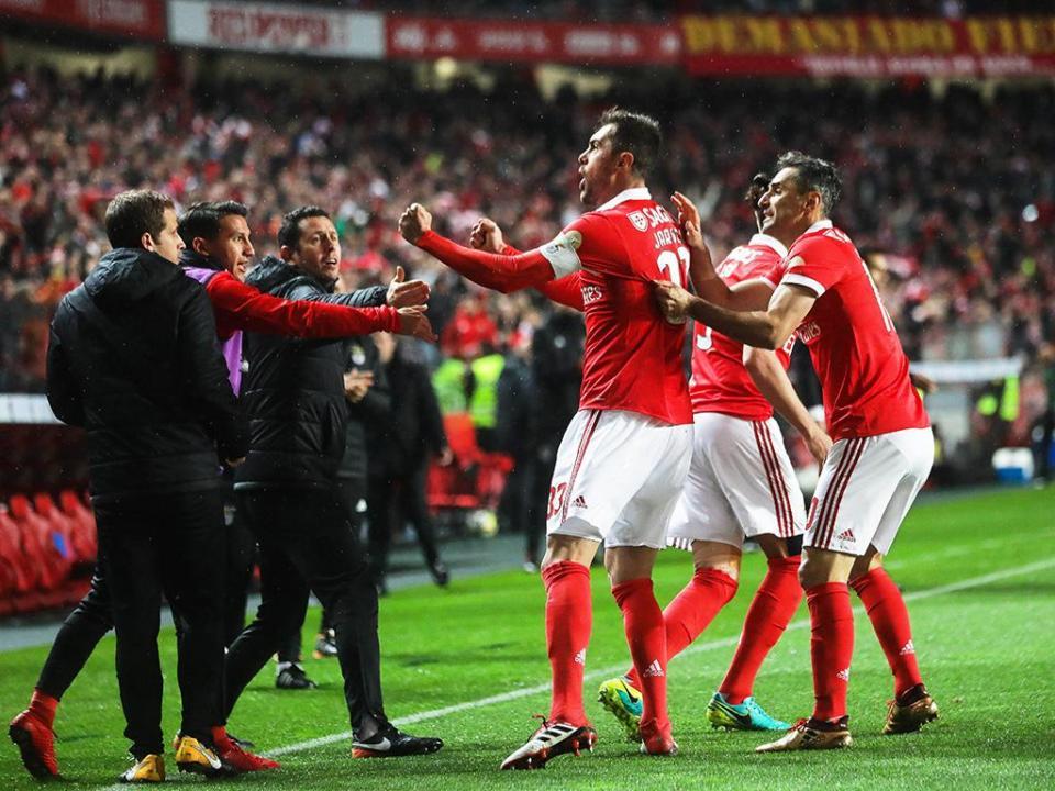 Análise: ataque do Benfica no top-3 das águias no século XXI