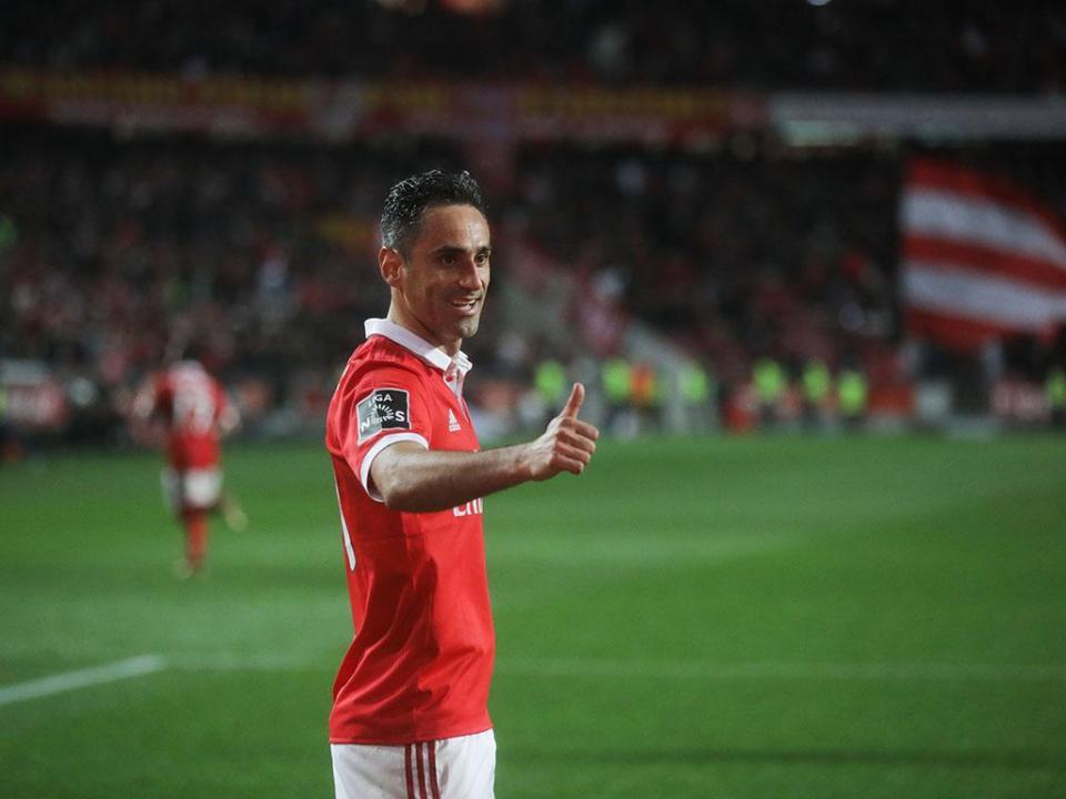 Liga: Jonas melhor jogador e Rui Vitória melhor treinador no mês de janeiro