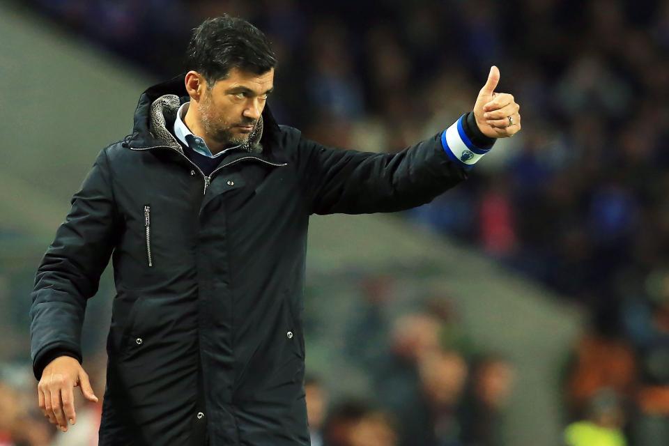 Se Conceição vencer Feirense, só fica atrás de Mourinho em casa