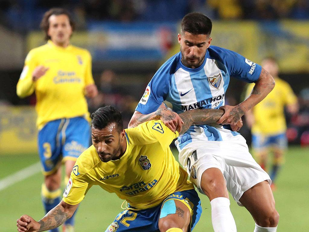 Etebo e Aquilani no empate do Las Palmas em Leganés