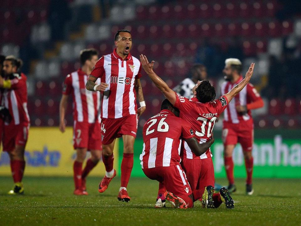 VÍDEO: Vítor Gomes bisa na Mata com um grande golo