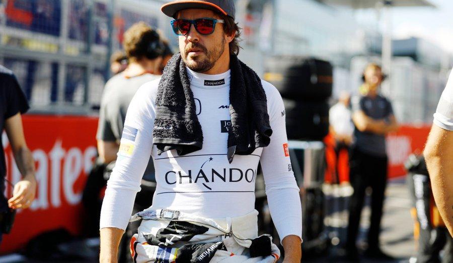 As novas cores de Fernando Alonso