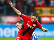 Leverkusen-Hertha (Reuters)
