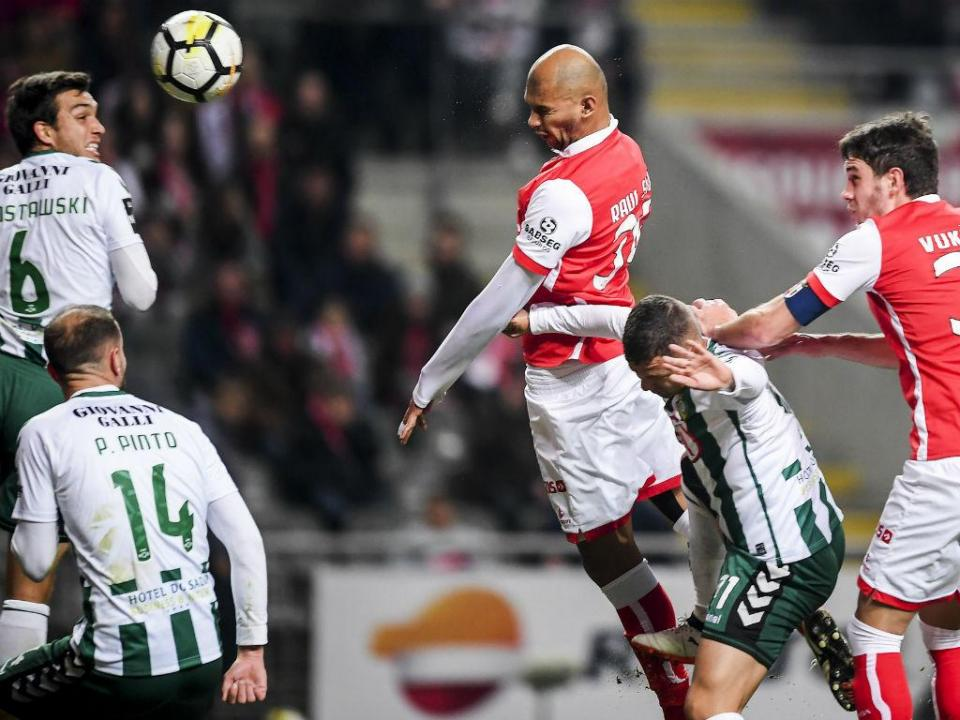 Sp. Braga-V. Setúbal, 3-1 (resultado final)