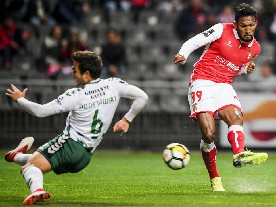 VÍDEO: golo anulado ao Sp. Braga após consulta ao VAR