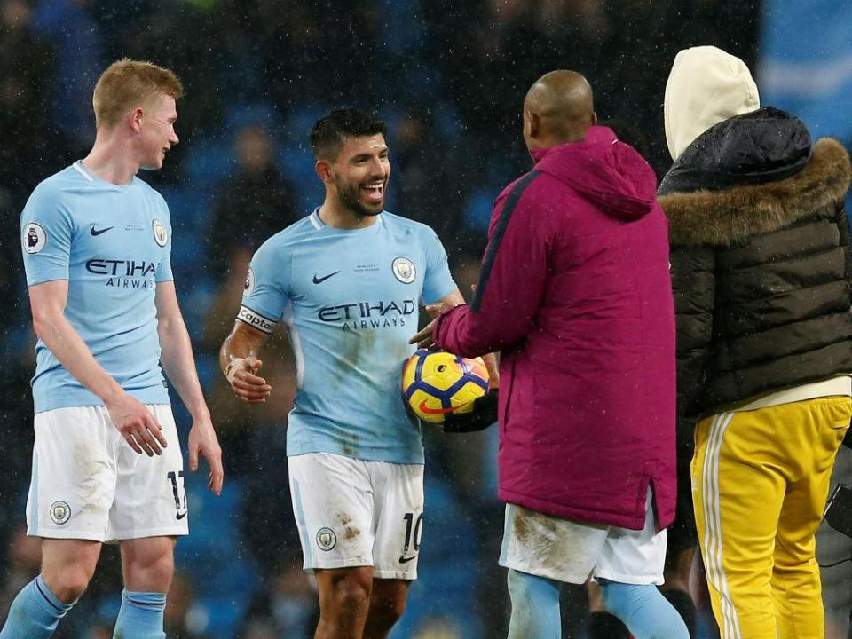 Premier League: Aguero vence prémio de melhor jogador do mês