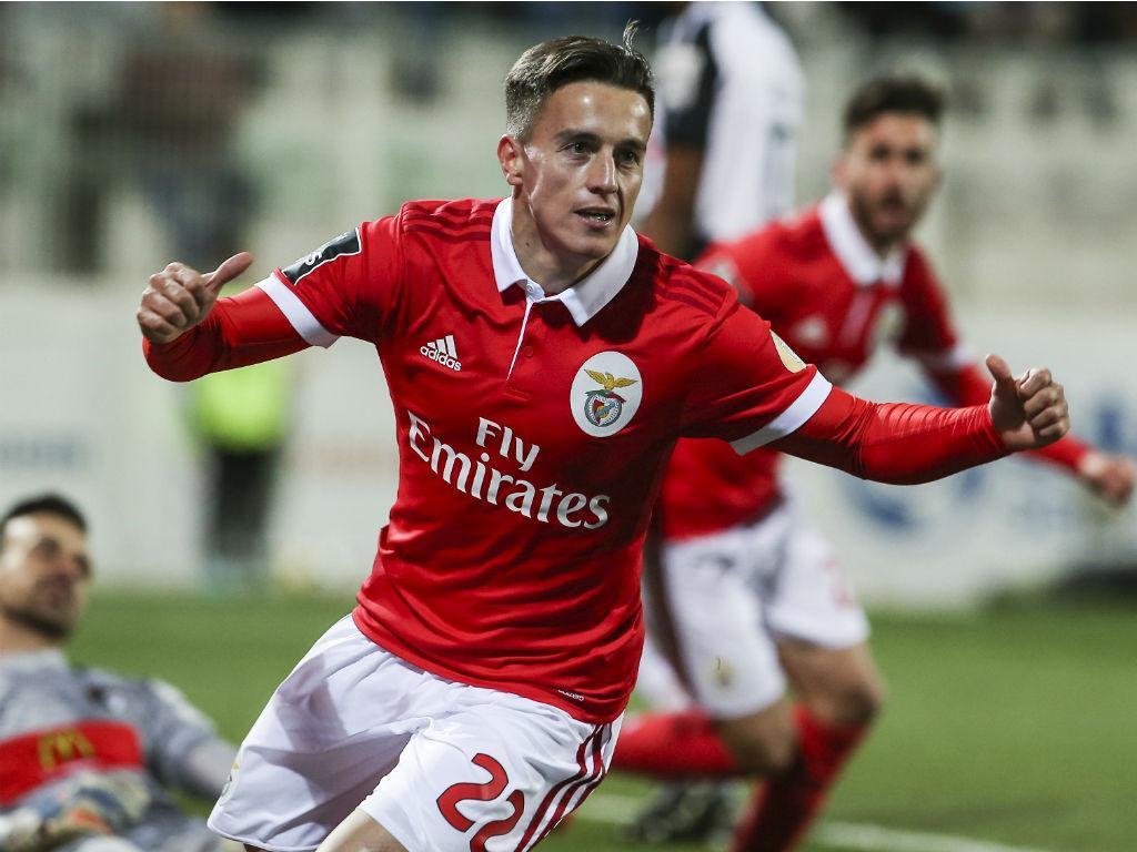 Benfica mostra Cervi a treinar «o livre de Portimão»