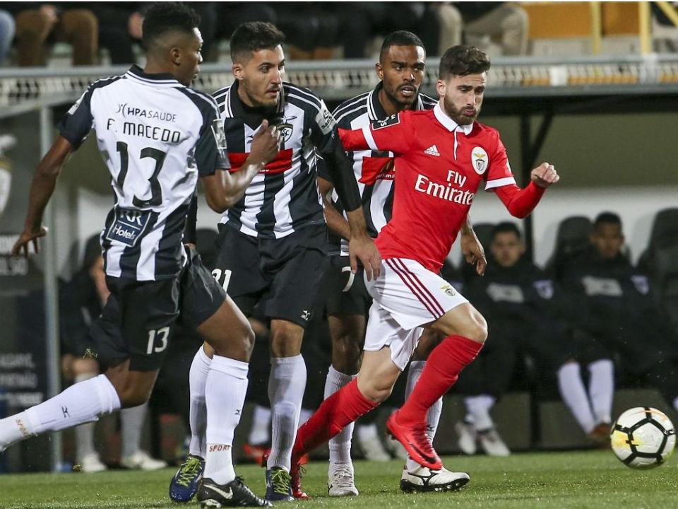 VÍDEO: Felipe Macedo restabelece a igualdade no Portimonense-Benfica