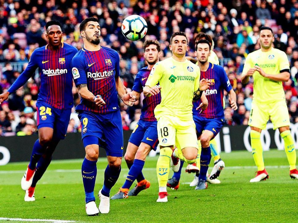Barcelona travado pelo Getafe em Camp Nou