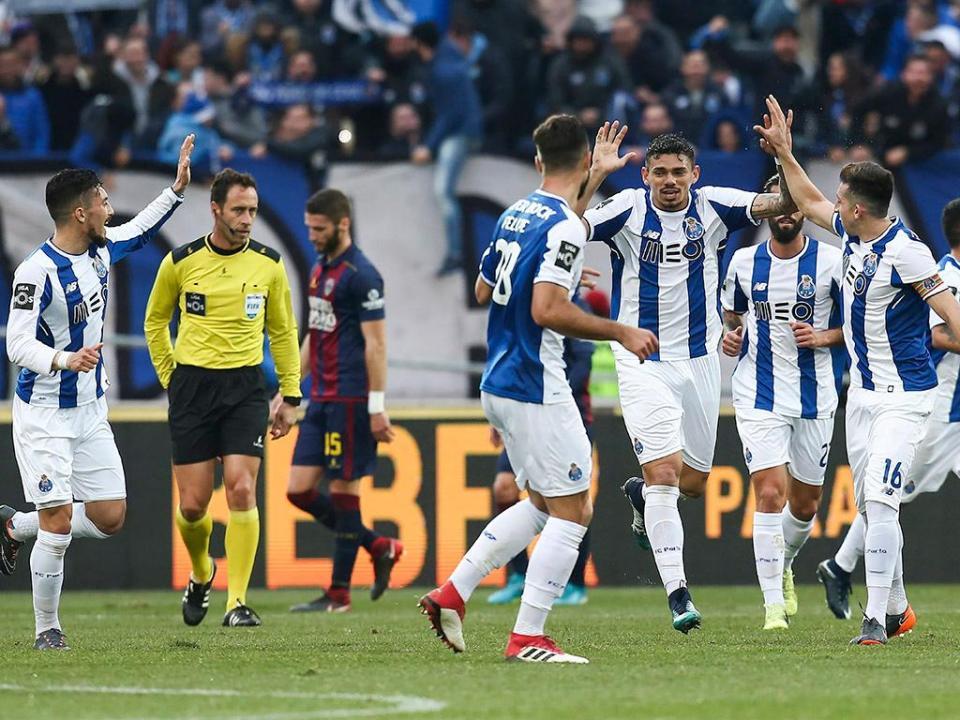 Desp. Chaves-FC Porto, 0-4 (resultado final)