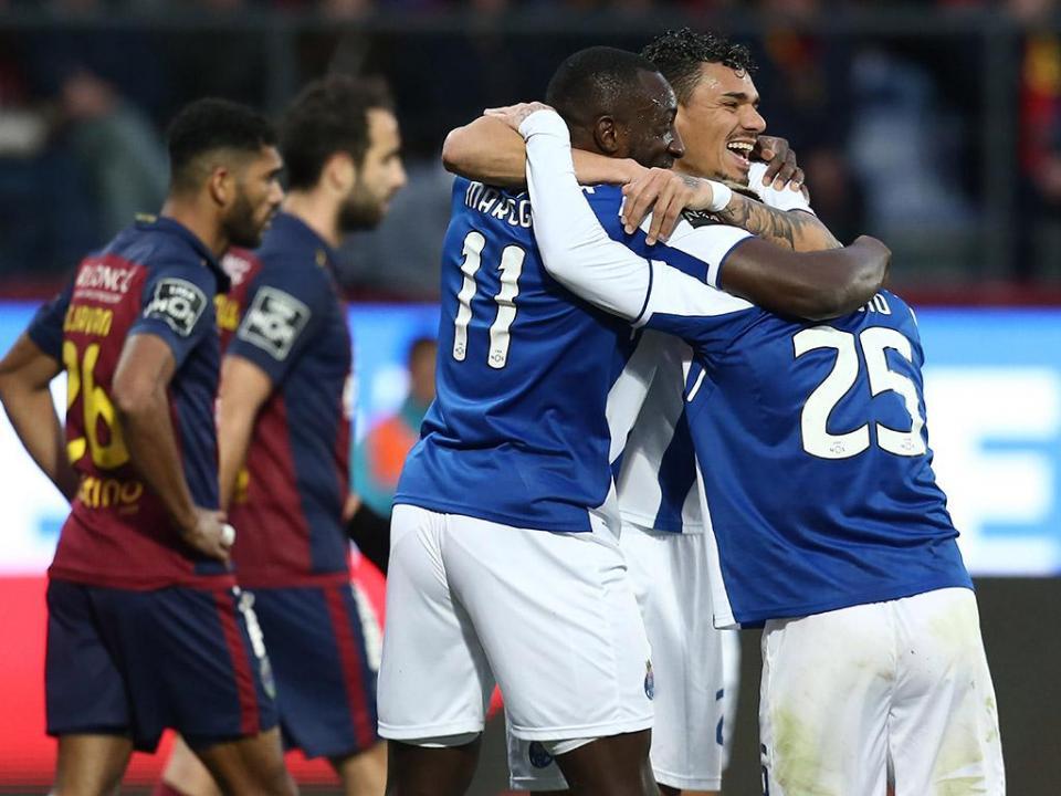 Desp. Chaves - FC Porto, 0-4 (crónica)
