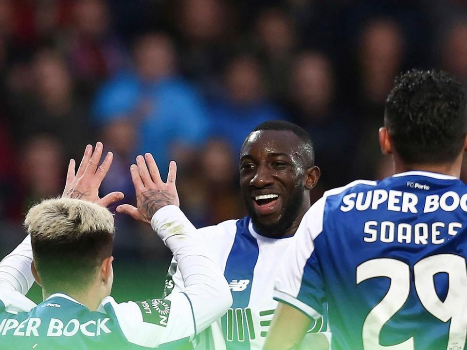 FC Porto prepara os 45 minutos com o Estoril com três baixas