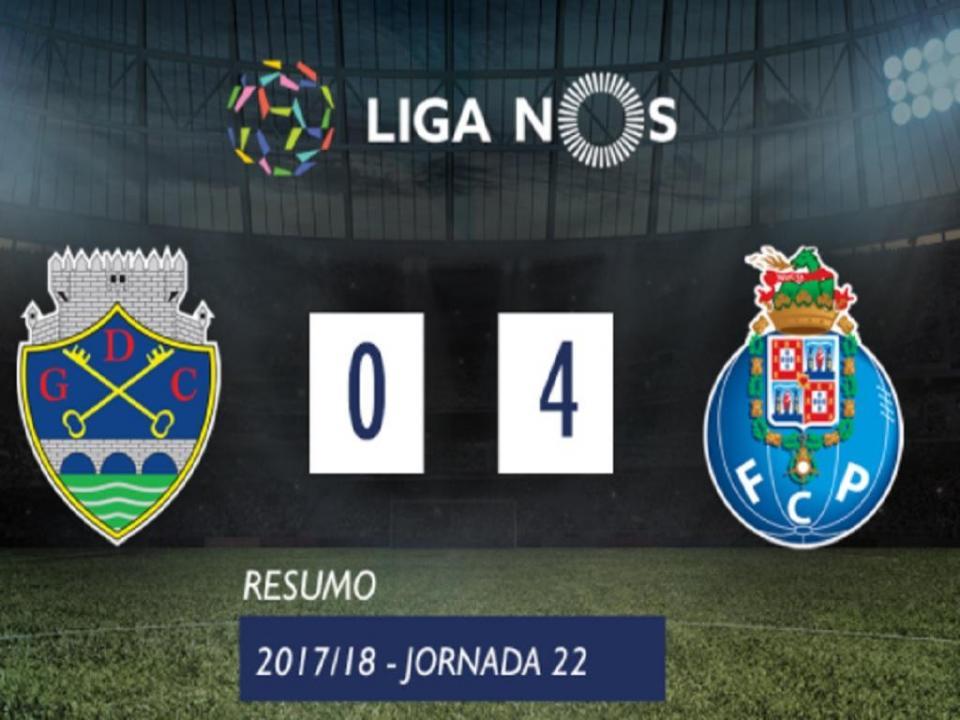 VÍDEO: o resumo da goleada do FC Porto sobre o Desp. Chaves