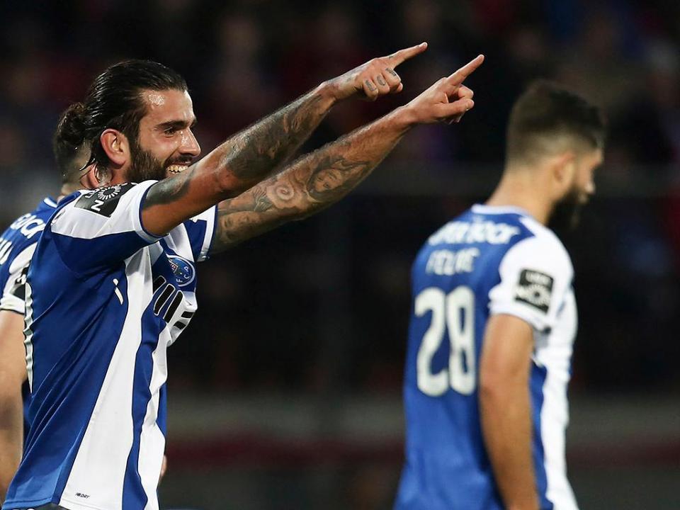 Sindicato: golo de Sérgio Oliveira é o melhor da 22ª jornada