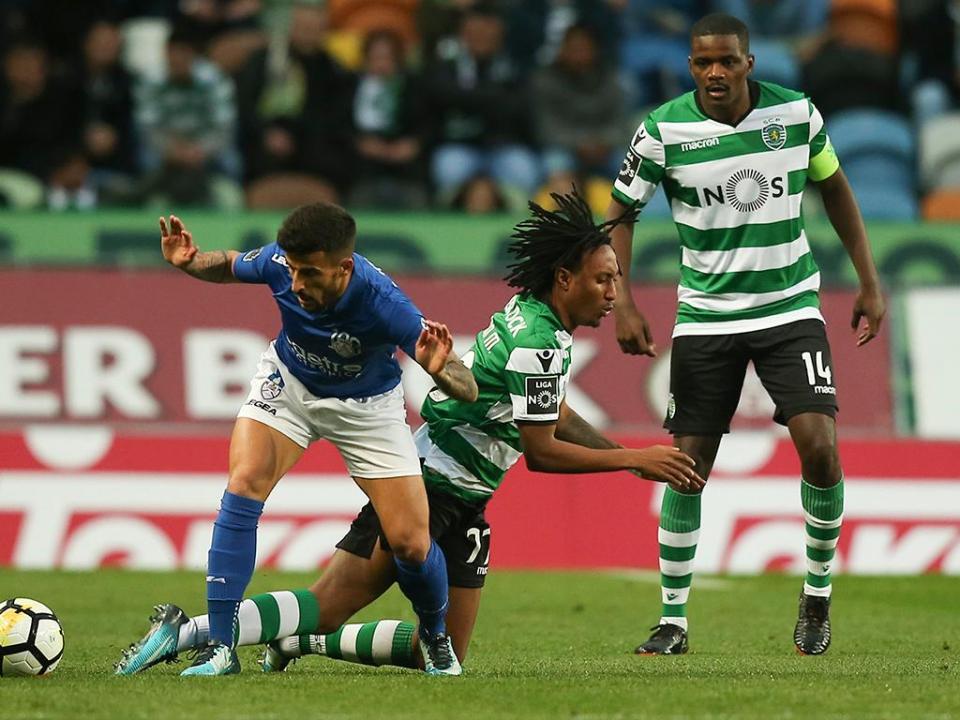 VÍDEO: William dá vantagem ao leão no Sporting-Feirense
