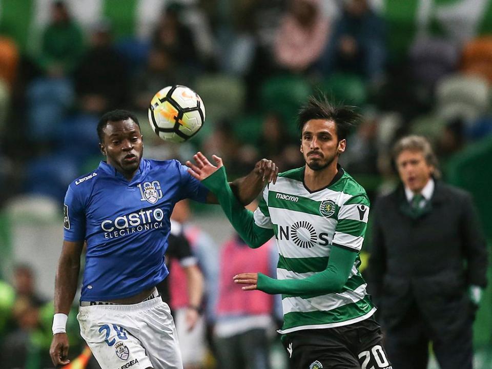 VÍDEO: o resumo do Sporting-Feirense (2-0)