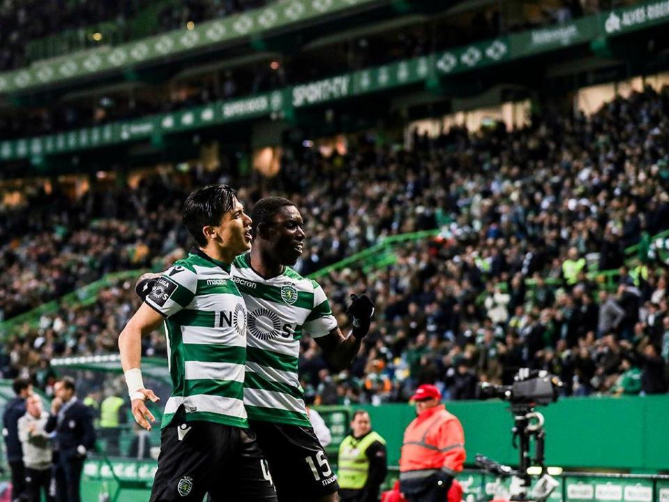 Sporting-Feirense, 2-0 (destaques)