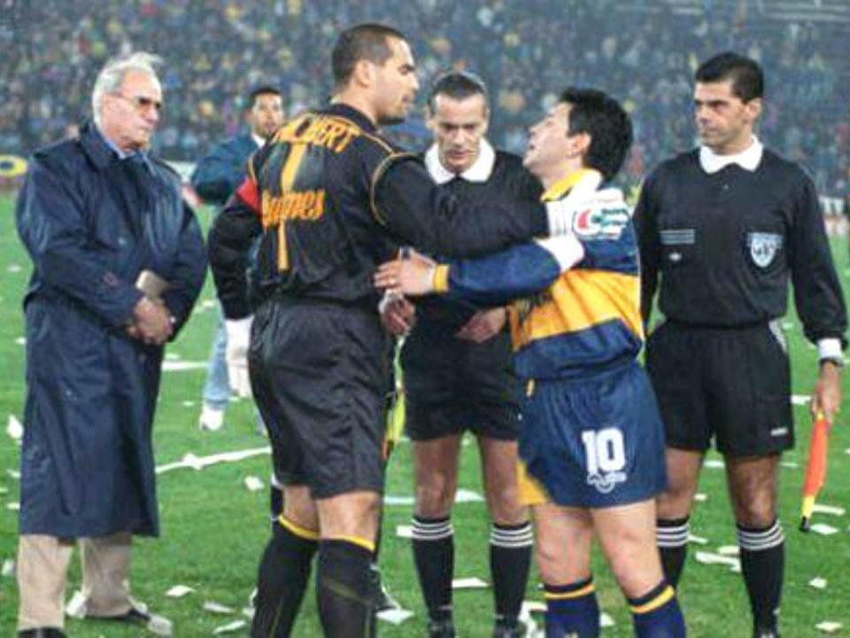 Chilavert: o salto do Bulldog que nega o último golo a Maradona