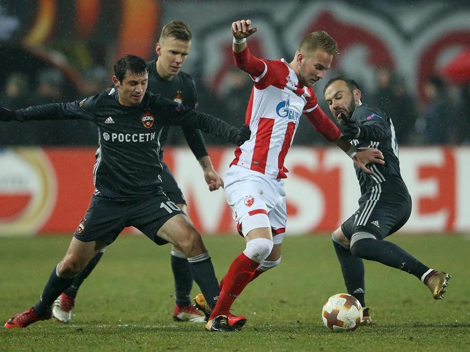 LE: golo de Dzagoev apura CSKA Moscovo para os «oitavos»