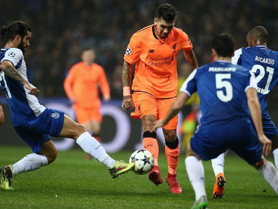 LC: FC Porto-Liverpool, 0-5 (um a um, análise aos dragões)