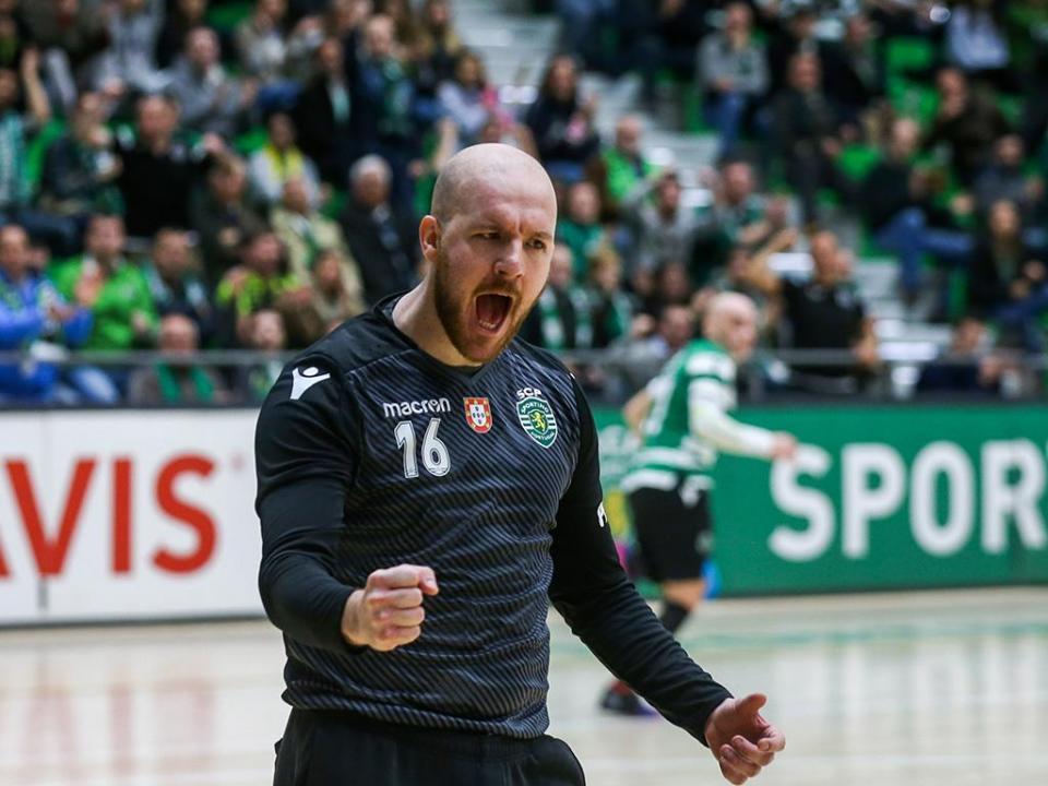 Andebol: Sporting fecha primeira fase com vitória expressiva frente ao Belenenses