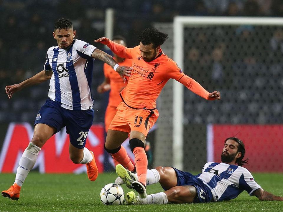 LC: FC Porto-Liverpool, 0-5 (resultado final)
