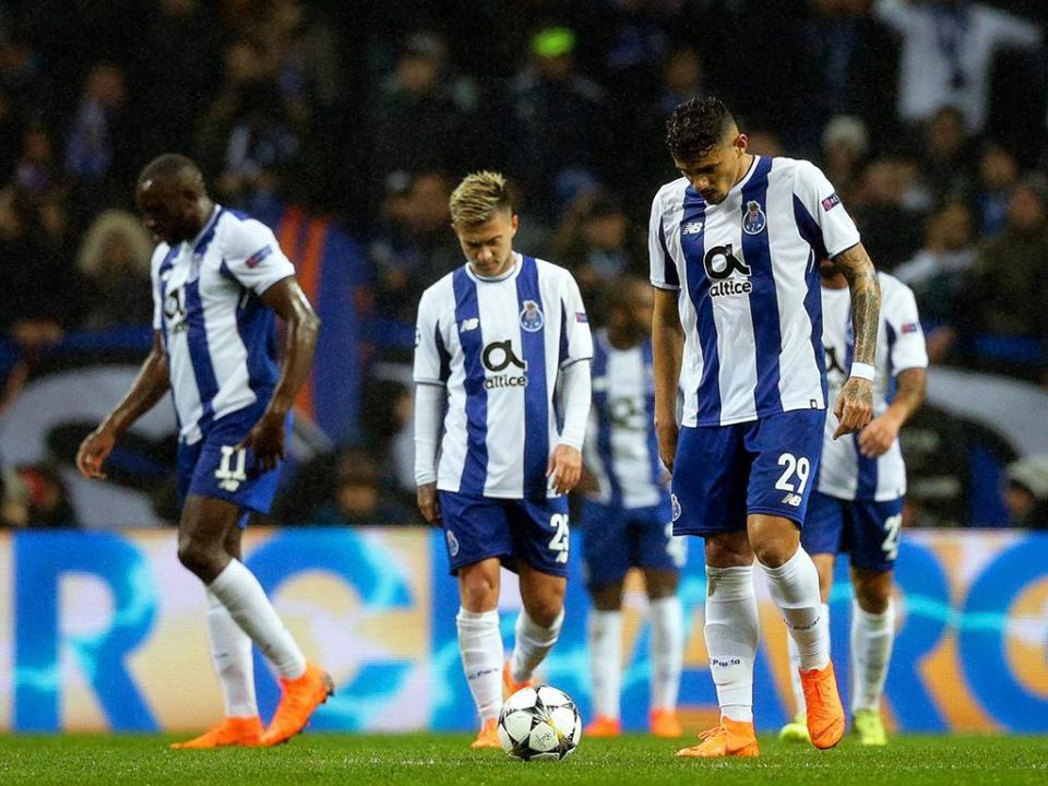 FC Porto: derrota com Liverpool foi a pior de sempre em casa