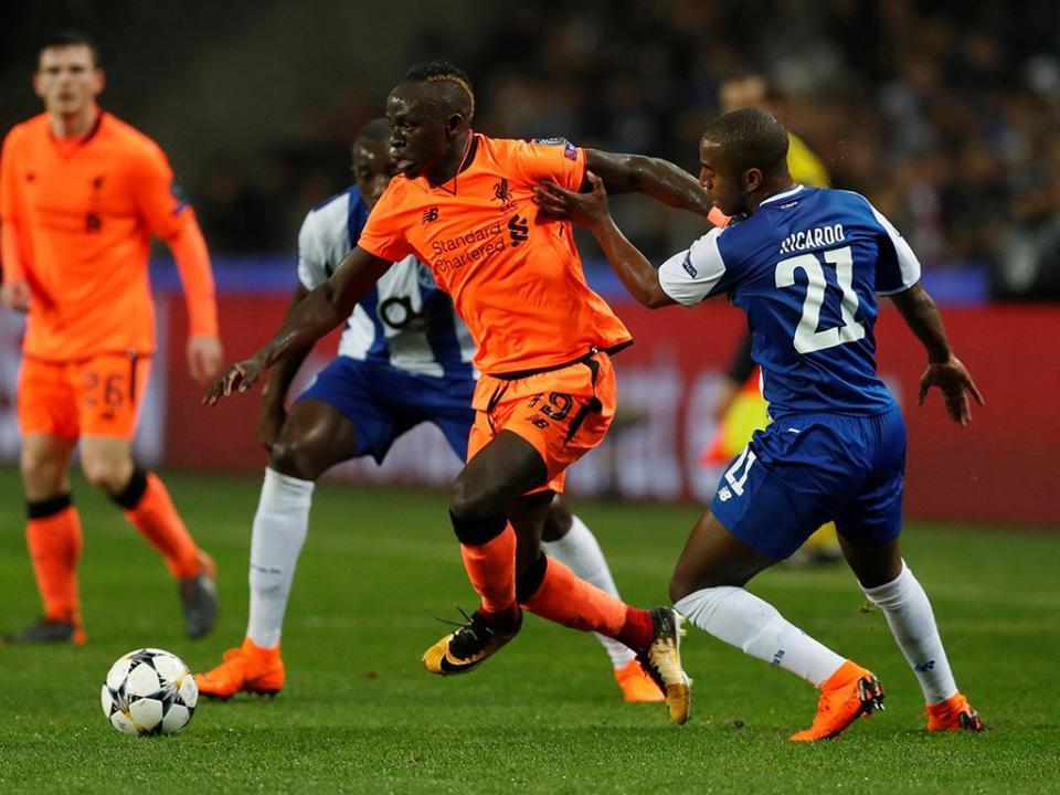 Champions: Sadio Mané eleito o melhor da semana