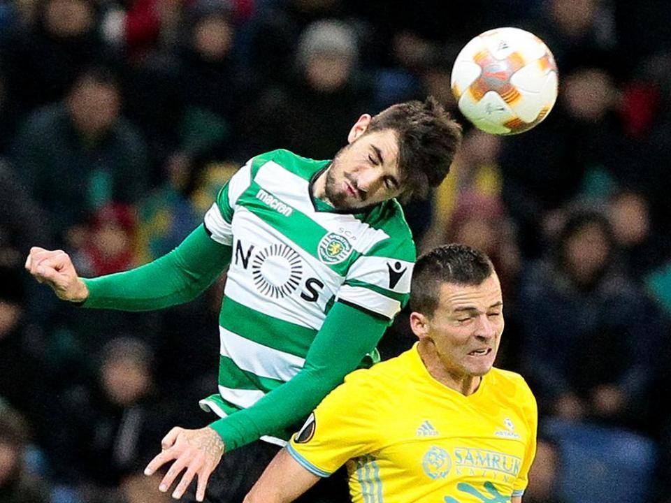 Sporting: Piccini e Montero regressam aos convocados