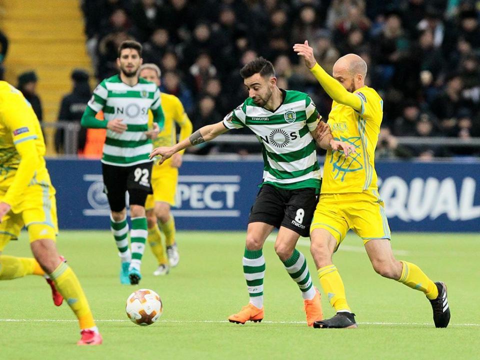 Liga Europa: Bruno Fernandes e Manuel Fernandes na equipa da semana